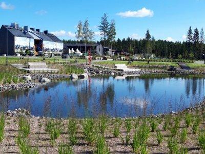 Asuntomessualue, Puustellinmetsän puisto, Tuusula